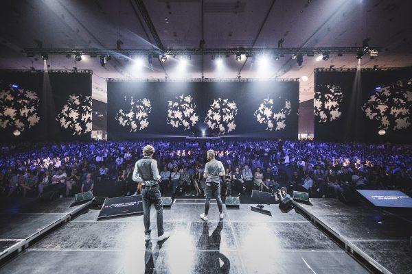 Thiemo Gillissen & Stefan Stücklschweiger beim Festival Opening