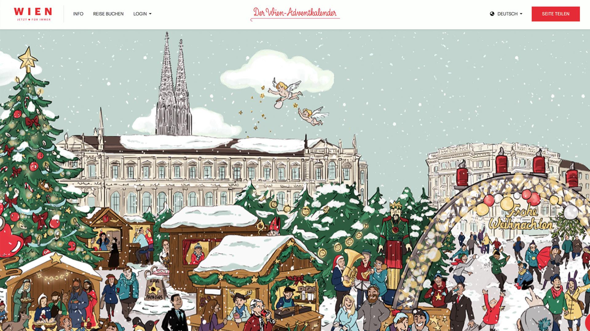 Wien Tourismus Adventkalender