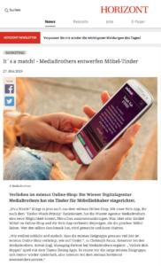 It´s a match! - MediaBrothers entwerfen Möbel-Tinder