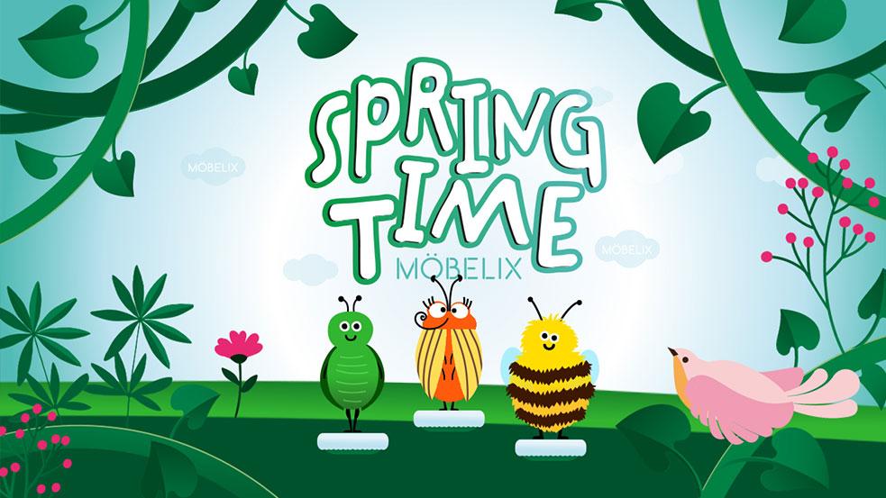 Spring Time bei Möbelix