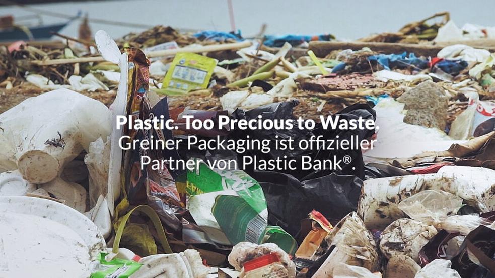 Greiner x Plastic Bank